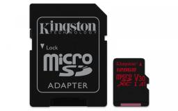 Karta MicroSD Kingston microSD 128GB Canvas React   (SDCR/128GB)