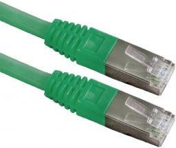 Esperanza RJ-45/RJ-45, kat.6, FTP, zielony, 0.5m (EB283G)