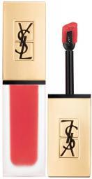 YVES SAINT LAURENT Tatouage Couture Lip Matte Stain matowa pomadka w plynie 22 Corail Anti Mainstream 6ml