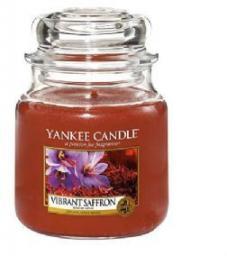Yankee Candle Small Jar mała świeczka zapachowa Vibrant Saffron 104g