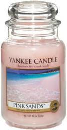 Yankee Candle Large Jar duża świeczka zapachowa Pink Sands 623g