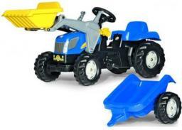 Rolly Toys Traktor New Holland z Łyżką i Przyczepą (5023929)