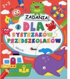 Książeczka Dla bystrzaków przedszkolaków 2