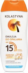 Kolastyna Emulsja do opalania SPF15 200ml