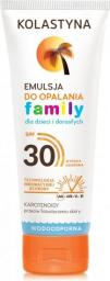 Kolastyna Emulsja do opalania SPF30 Family 250ml