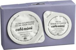 Cafe Mimi Zestaw 2-etapowy do twarzy Proteiny ryżu (maseczka 15ml+serum-aktywator 5ml)