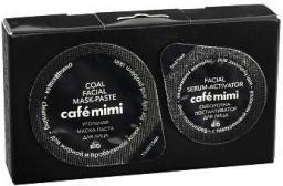 Cafe Mimi Oczyszczająca maska z węglem + serum do cery tłustej i problematycznej 15ml+5ml
