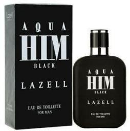 Lazell Aqua Him Black For Men EDT 100ml