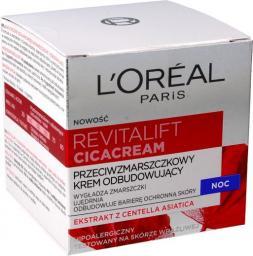 L´Oreal Paris Revitalift Cicacream Anti-Aging & Repairing Wrap-Cream Krem na noc 50ml