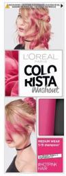 L'Oreal Paris Colorista Washout zmywalna farba do włosów Hot Pink Hair 80ml