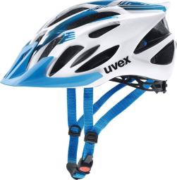 UVEX kask rowerowy Flash blue-white r. 52-57 cm (4109660115)