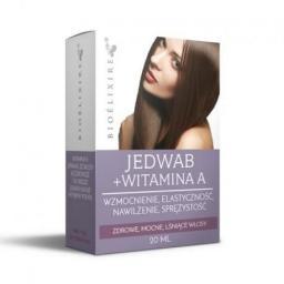 Bioelixire Nawilżający jedwab do włosów z witaminą A 20ml