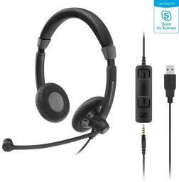 Słuchawki z mikrofonem Sennheiser SC 75 USB MS (507086)