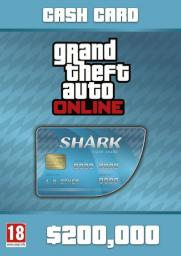 Grand Theft Auto Online: Tiger Shark Cash Card, ESD