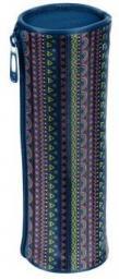 Piórnik Paso Piórnik tuba granatowy kolorowe szlaczki (275532)