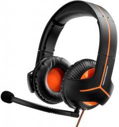 Słuchawki Thrustmaster Y-350CPX 7.1 z mikrofonem czarno-pomarańczowe