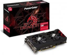 Karta graficzna Power Color Radeon RX 570 Red Dragon, 8192 MB GDDR5 (AXRX570 8GBD5-3DHD/OC)