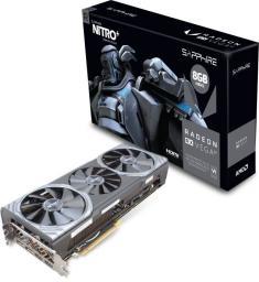 Karta graficzna Sapphire Nitro+ Radeon RX Vega 64 8GB HBM2 2048 Bit, 2x HDMI, 2x DP, BOX (11275-03-40G)