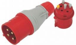 TAREL Wtyczka przenośna izolacyjna 16A 400V 3P+N+Z IP44  (EX-TWT-105)