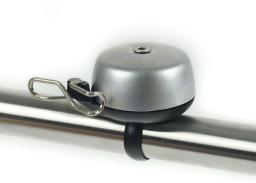 WIDEK Dzwonek rowerowy PAPERCLIP srebrny (WDK-004280)