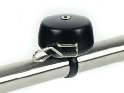 WIDEK Dzwonek rowerowy PAPERCLIP czarny  (WDK-004279)