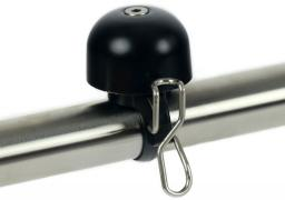 WIDEK Dzwonek rowerowy PAPERCLIP MINI czarny (WDK-004274)