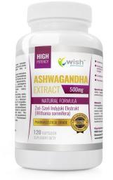 WISH  Ashwagandha Extract 500mg 120 kapsułek