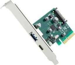 Kontroler Gembird PCI-Express 2xUSB 3.1 (PEX-U31-01)