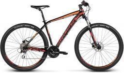 Kross Rower górski Level B2 czarno-czerwono-pomarańczowy