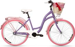 Goetze Rower miejski COLOURS 26 fioletowy