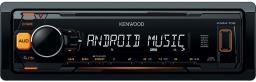Radio samochodowe Kenwood pomarańczowy (KMM-104 AY)