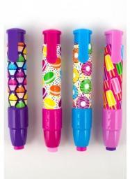 Kolorowe Baloniki Gumki Do Ścierania Słodycze 4 Wzory (274735)