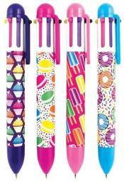 Kolorowe Baloniki Długopis mechaniczny Słodycze różne wzory (274743)