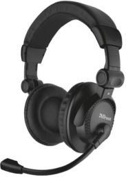 Słuchawki z mikrofonem Trust Como Headset for PC and laptop (21658)
