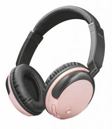 Słuchawki Trust Kodo bezprzewodowe słuchawki różowe złoto (22453)