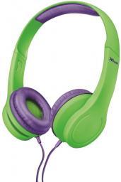 Słuchawki Trust Bino Kids zielone (22490)