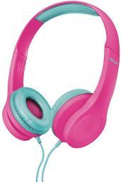 Słuchawki Trust Bino Kids różowe (22491)