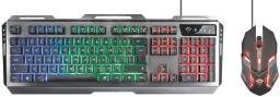 Klawiatura + mysz Trust GXT 845 Tural Gaming combo (22457)