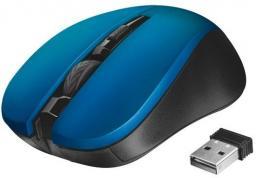 Mysz Trust Mydo Silent Click bezprzewodowa niebieska (21870)