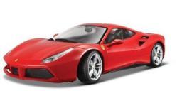 Bburago Samochód Ferrari 488 GTB Czerwony