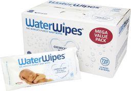 WaterWipes WaterWipes, Chusteczki nasączane czystą wodą, 12x60szt., KARTON PL - WWP00571K