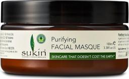 SUKIN Oczyszczająca maska do twarzy z białą glinką Purifying Facial Masque 100ml