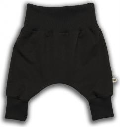 Nanaf Organic Spodnie niemowlęce Czarna Owca czarne r. 56 (NCO-03)