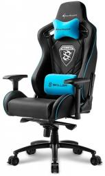 Fotel Sharkoon Skiller SGS4 Gaming Seat - black/blue - 4044951021710