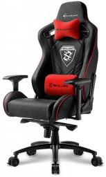 Fotel Sharkoon Skiller SGS4 Gaming Seat - black/red - 4044951021727