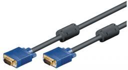 Kabel Mcab D-Sub (VGA) - D-Sub (VGA), 1.8, Czarny (7200277)