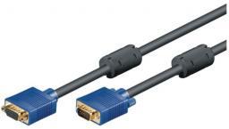 Kabel Mcab D-Sub (VGA) - D-Sub (VGA), 10, Czarny (7200281)