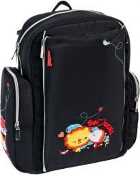 ZUMA KIDS  Plecak z przewijakiem czarny (G0922A)