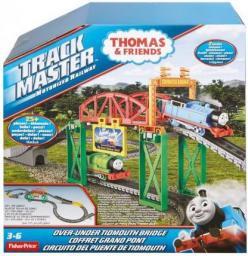 Mattel Tomek i Przyjaciele Truck Master - Zestaw do rozbudowy z mostami  (DVF74)