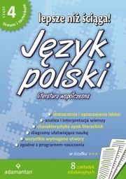 Lepsze niż ściąga! Język polski LO cz. 4 - WIKR-988324